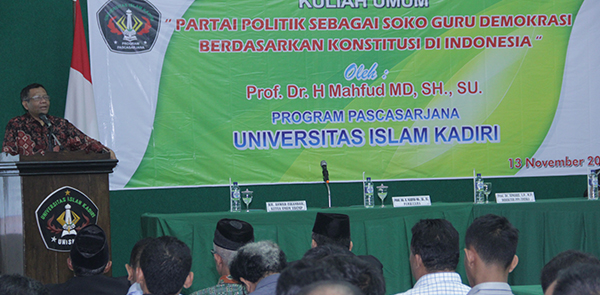 Kuliah Umum Prof Mahfud MD